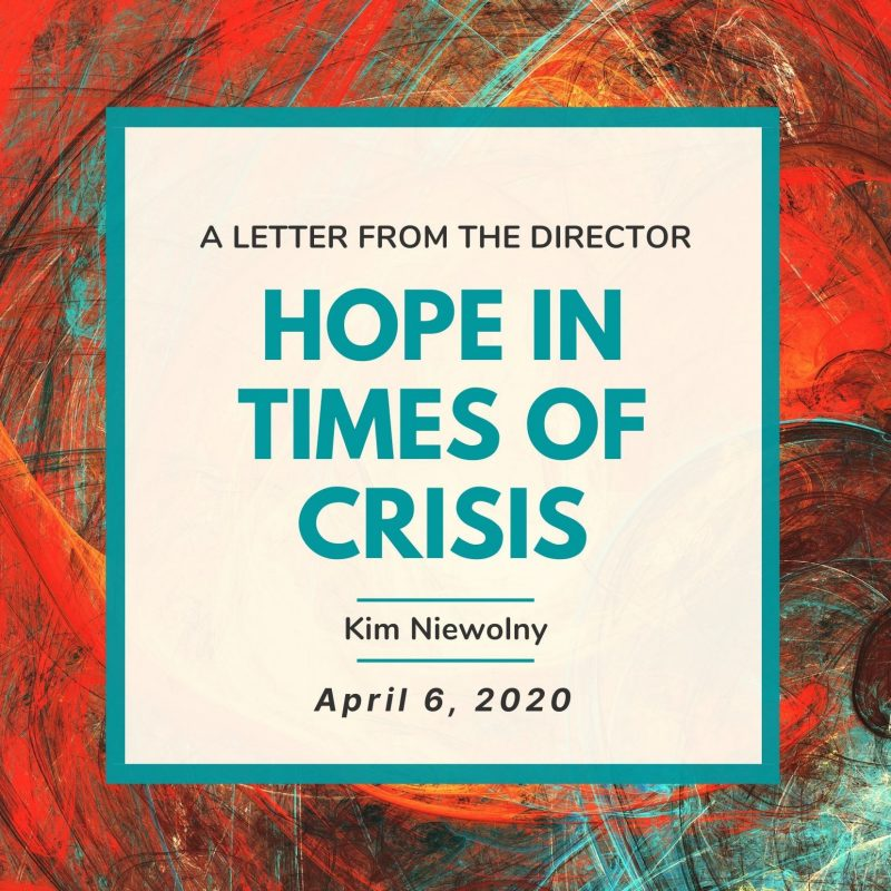 Hope in the time of crisis