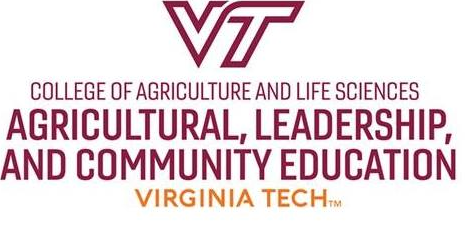 Virginia Tech College of Agriculture and Life Sciences Agricultural, leadership, and community education